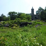 Little Round Top, looking up from the Confederate Lines