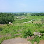 Little Round Top, looking down from the Union lines