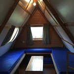 Inside our 'Big Chief' Wigwam