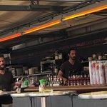 Cafe Restaurant Halle Foto