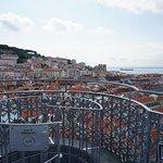 View from The Santa Justa Lift...
