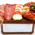 Fantastic range of food available to try all authentically Italian like antipasta plates