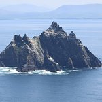 Little Skellig Michael from Skellig Michael , look what a beautivul day.
