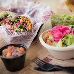 Our range of burritos, naked burrito bowls and tacos can be fully customised to suit your tastes