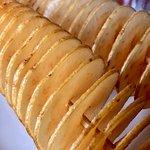 spiral potatoes (tasty!)
