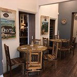 Enjoy a meal in our authentic restaurant