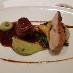 Main dish: Guinea-fowl