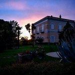 Villa Liberty al tramonto
