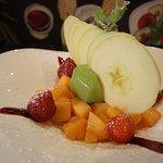 Salade de fruit La Trattoria Di Gio.