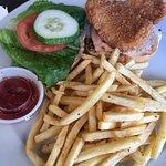 fried fish sandwich was so good