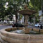 Fountains outside Prado