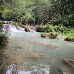 坎布加海瀑布照片