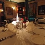 Join us for a historic meal in our Colonial Room.
