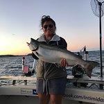 Intimidator Sport Fishing Charters: Lake Trout.
