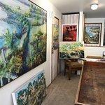 Vern Simpson Studio, Pender Island BC