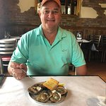 Chargrilled Oysters 1/2 dozen ($10)