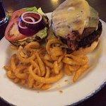 Old Faithful Burger. Fantastic value.
