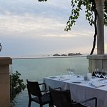 Beautiful views from restaurant More