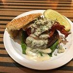 Bobby Blue+Bacon Burger