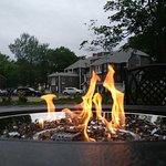 Firepit in the garden
