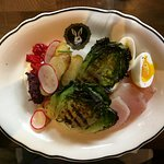 Grilled Little Gem Nicoise