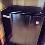 Undersized microwave.