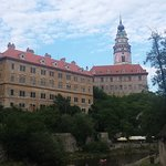 체스키 크룸로프 성의 사진