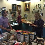 Inside the Hermitage gift shop