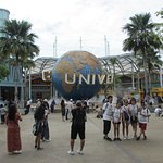 Entrance of The Universal Studios Singapore