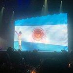Final do espetáculo, com hino da argentina !