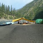 Camp on the Salmon River