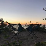 Sunset from Twelvemile Beach Campground