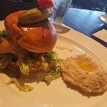 Cheddar Bacon Burger