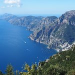 Gorgeous views with Capri in the background
