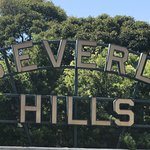 Beverly Hills sign is right across SM Blvd.