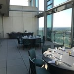 A great start to day 2 of our retreat was breakfast at the top of Hotel Arista!
