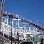 Roller Coaster, Santa Cruz Beach Boardwalk, Santa Cruz, CA