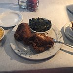 Fried Chicken and Greens