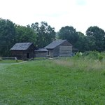 rustic old settlement in cades cove