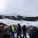 Outside the Ski Hill Grill at Breck