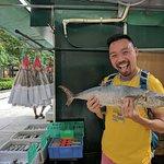 Salted fish in Sai Ying Pun