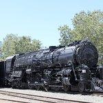Steam locomotive under restoration