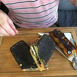 Sandwich and Eclair