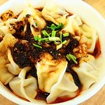 Dumplings in Spicy soup