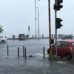 Marine Drive in the monsoons