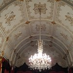 Ceiling inside the Faberge museum