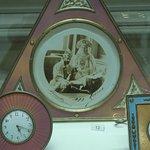 Enamelled clocks inside the Faberge museaum