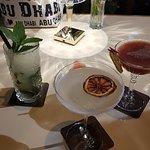 Mojito, Margarita and Strawberry Daiquiri