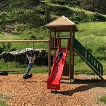 the playground for kids