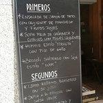 good choice of daily menu - very good as well